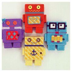 Cute DIY robots