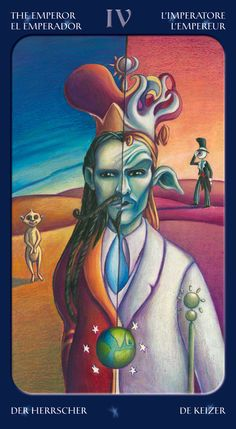 The Emperor - Tarot of the Sweet Twilight -- If you love Tarot, visit me at www.WhiteRabbitTarot.com