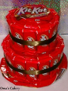 kitkat centerpieces | Omas Cakery | Kit Kat Candy Cake | Online Store Powered by Storenvy