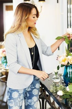 Lauren Conrad for Kohl's Spring 2013 Lookbook - The Budget Babe  Love the jeans!
