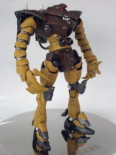 Dengeki Gunpla King 2015 Model Contest [電撃ガンプラ - Open Category Image Gallery [Part Gundam Toys, Gundam Wallpapers, Gundam Custom Build, Sci Fi Models, Cool Robots, Earth Tone Colors, Gunpla Custom, Mecha Anime, Super Robot