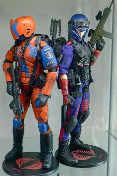 Military Action Figures, Custom Action Figures, Comics Maker, Cobra Commander, Storm Shadow, Gi Joe Cobra, Action Toys, Classic Toys, Cinema