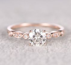 A gemstone bridal ring will seal the deal on any proposal. | 18 Jaw Dropping Engagement Rings That Are Under $500