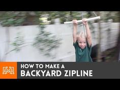 A zipline is a ton of fun, and building it is quicker and easier than you might think! Here's a full how-to!