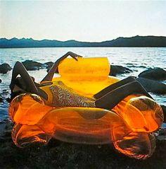 De Pas, D'Urbino, Lomazzi  Inflatable armchair  Zanotta  1969
