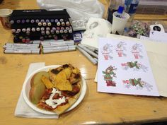 Get hungry when I'm at Scrapbooking- intervention!