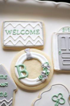 Cookies by www.SoonerSugar.com Housewarming/new house/home/cookies
