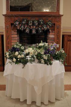 冬の装花 リストランテASO様へ ナチュラル&ヴィンテージ : 一会 ウエディングの花