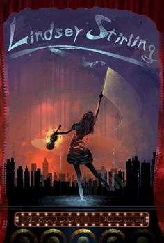 Lindsey Stirling Poster Art