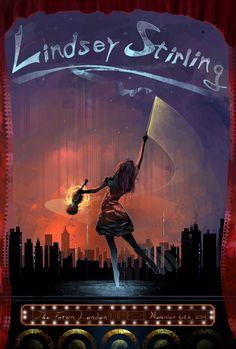 Lindsey Stirling Poster Art