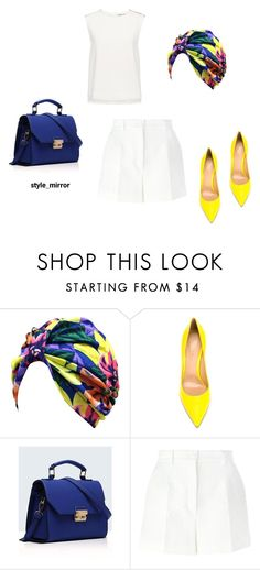 """Untitled #545"" by style-mirror ❤ liked on Polyvore featuring Gianvito Rossi, Relaxfeel, Dolce&Gabbana and Finders Keepers"