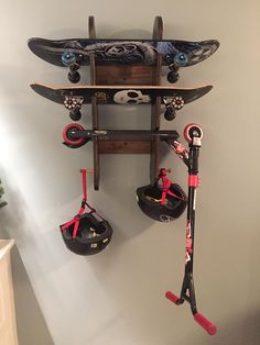 Skateboard/Scooter Rack