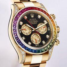 Rolex - Daytona Rainbow