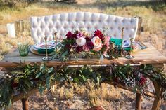 Stunning set up for bohemian/moroccan vibes at your wedding!