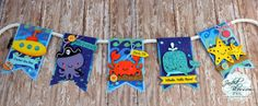 Doxie Mel Designs: Jaded Blossom June Release Day 3 :: Under the Sea Banner