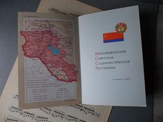 Georgaphic Atlas of USSR / Book with MAPS / Soviet by EUvintage