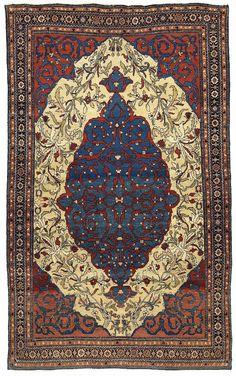 Saruk Feraghan       Mitte 19. Jahrhundert    193 x 126 cm  I Teppiche und Textilien Max Lerch