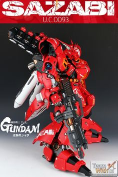 GUNDAM GUY: G-System 1/72 MSN-04 Sazabi Ver. Evolve 2.0 - Painted Build