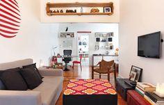 Revista Decorar mais por menos :: Antigo com jeito moderno - Com espaços bem-aproveitados, esse apartamento antiguinho esbanja charme