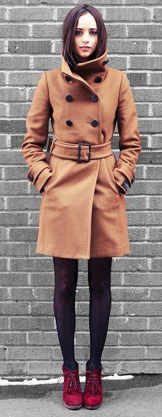 Perfect camel colored coat