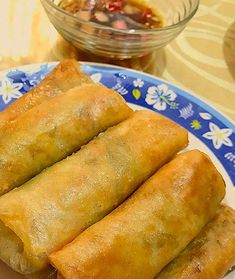 Crispy Lumpiang Gulay at Togue