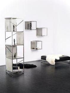 Desire box #showcase #design by Lestrocasa Firenze #interiordesign #home #steel #modern #Lestrocasa