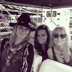 Just some girls on a golf cart. Hanging with @thebrandyclark & @jessiejodillon. #festivallife. #ThatGirlTour #JenniferNettles  http://jennifernettles.com