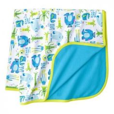 NEED IT! Disney Newborn Baby Boys' Monsters Inc. Receiving Baby Blanket