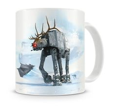Star Wars Tasse AT-AT Reindeer Christmas Ver.