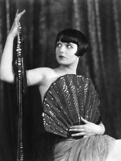Poster Print Louise Brooks Silent Film by NumberEleven Louise Brooks, Vintage Hollywood, Hollywood Glamour, Classic Hollywood, Lost Girl, Silent Film Stars, Movie Stars, Belle Epoque, 1920s Photos