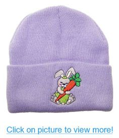 425de8f2e27 Pax Trading Child Kid Bunny Rabbit Cuffed Winter Hat (One Size)