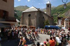 Valloire village on the way to Galibier