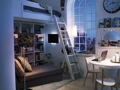 Tiny ikea living space