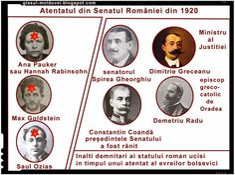 Atentatul din Senatul Romaniei din 1920 Intrebare importanta: Noi de ce nu am invatat aceasta istorie? Romania anilor de dupa…