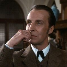 Ian Richardson aß Sherlock Holmes