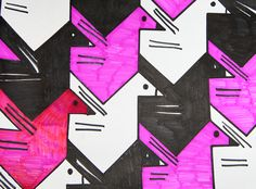 wikiHow to Make a Translation Tessellation -- via wikiHow.com