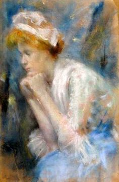 Seated Woman With Cap
