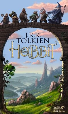 I'll leave you with this awesome copy of The Hobbit, by our beloved J.R.R. Tolkien - goodnight, mortals, elvenfolk, hobbitses and dwarves, I love you:)