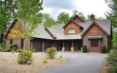 Country Escape with Optional Finished Lower Level - 29885RL | Cottage, Country, Mountain, Vacation, Exclusive, Photo Gallery, 1st Floor Master Suite, Den-Office-Library-Study, Jack & Jill Bath, Loft, Media-Game-Home Theater, Sloping Lot | Architectural Designs
