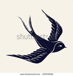 Swallows Stock Vectors & Vector Clip Art | Shutterstock