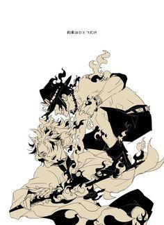 Kyojuro Rengoku • Flame Hashira • Portgas D. Ace • Demon Slayer • Kimetsu no Yaiba • One Piece • Crossover