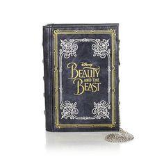 Danielle Nicole Disney's Beauty and the Beast Book Clutch