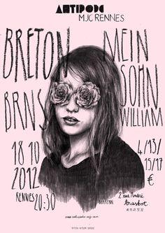 Marynn up #poster @Anna Nadal #design #print