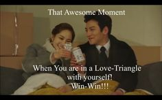 Healer : Ji Chang Wook & Park Min Young hahahahahah that was exactly what I thought! congrats Healer, this time the competition is just with yourself! Live Action, Healer Korean, Healer Kdrama, Drama Funny, Drama Fever, Kdrama Memes, Park Min Young, Korean Actors, Korean Dramas