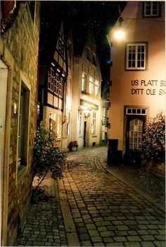 Bremen, Germany    It was beautiful at night