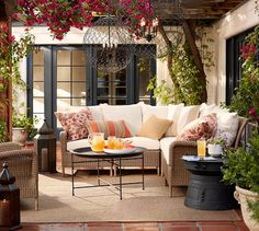 Combine function and style with Pottery Barn's patio and outdoor furniture and decor. Shop our outdoor collections and bring indoor elegance to outdoor spaces. Outdoor Rooms, Indoor Outdoor, Outdoor Living, Outdoor Furniture Sets, Outdoor Decor, Garden Furniture, Outdoor Tables, Modern Furniture, Screened In Porch Furniture