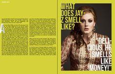 v magazine layout - Google Search