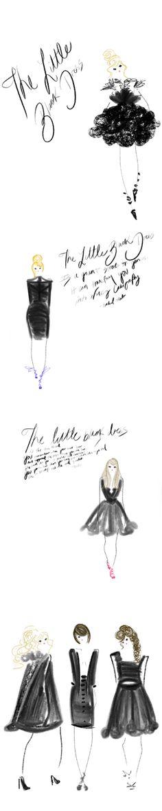 The Little Black Dress, Brooke Costello/DesignsbyBC