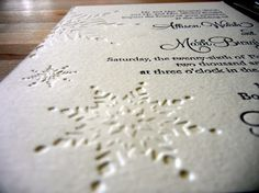 TWC: Una boda en invierno