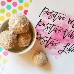 Protein balls recipe: raspberry & coconut homemade recipe